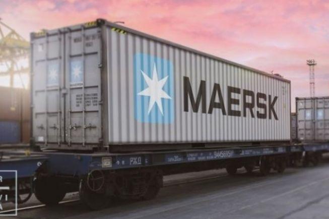 Maersk lançou o seu primeiro serviço ferroviário a ligar a China à Turquia