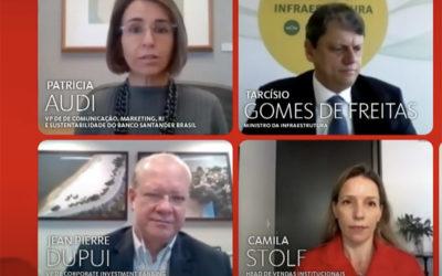'Vamos arrebentar na venda dos aeroportos', diz Tarcísio de Freitas